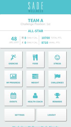 Sade Wellness Tracker