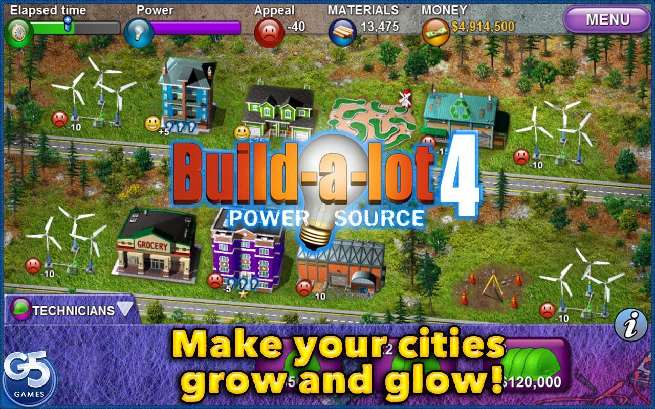 Build-a-lot 4: Power Source screenshot #1