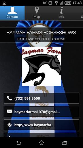 BAYMAR FARMS HORSESHOWS
