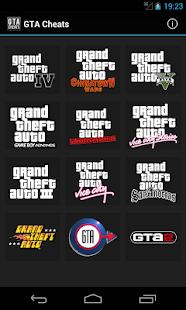 Cheats for GTA - screenshot thumbnail