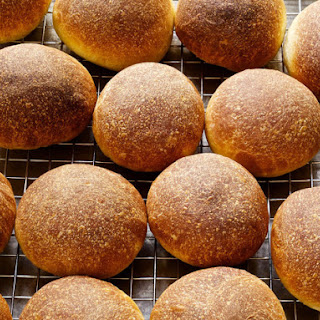 Soft Bread Salami Rolls.