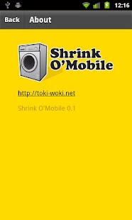 Shrink O'Mobile- screenshot thumbnail