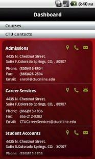 CTU Mobile – Phone - screenshot thumbnail