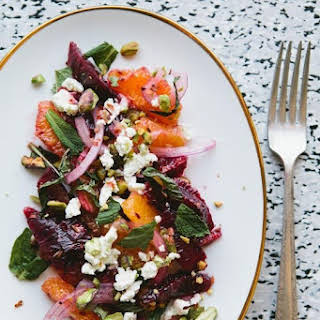Sicilian–Inspired Blood Orange Salad.