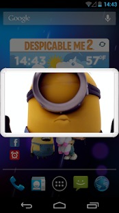 DESPICABLE ME WEATHER WIDGET - screenshot thumbnail