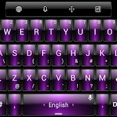 Theme TouchPal Dusk Purple
