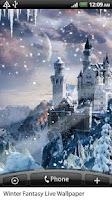 Screenshot of Winter Fantasy Live Wallpaper