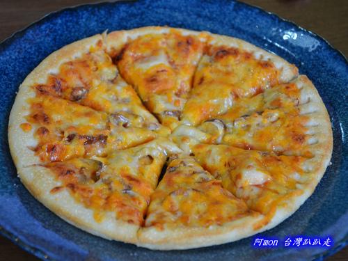 HOT豆素食PIZZA