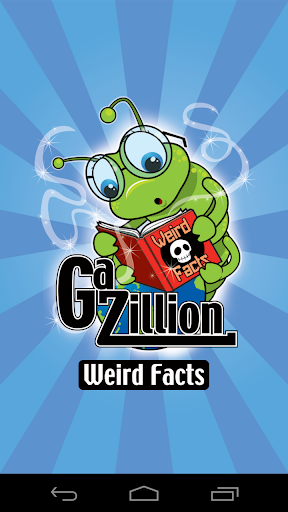 【免費生活App】GAZILLION WEIRD FACTS-APP點子