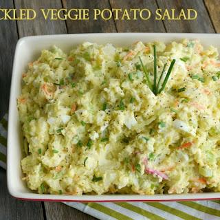 Pickled Veggie Potato Salad