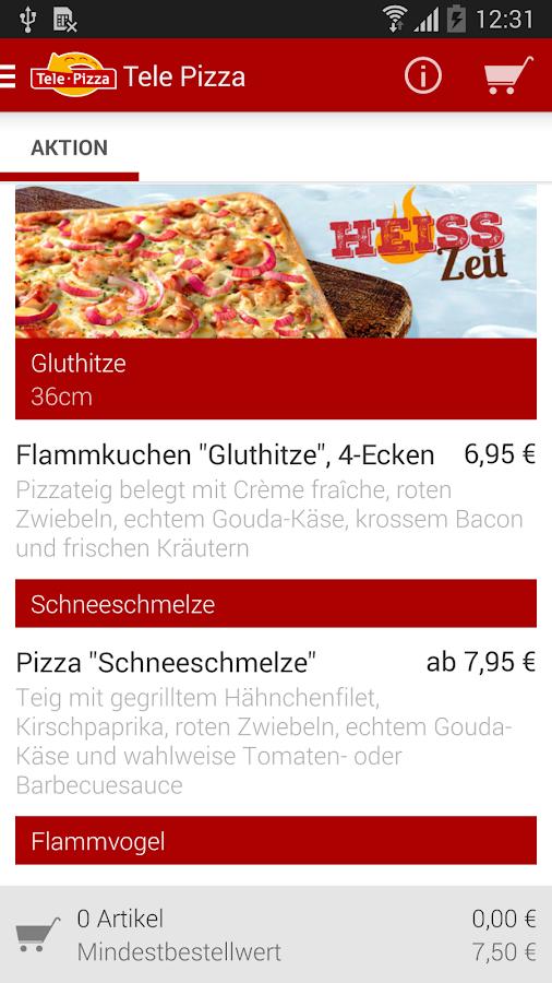 TelePizza - screenshot