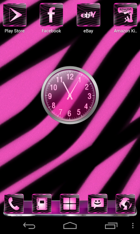Pink Zebra Complete 4 Themes- screenshot