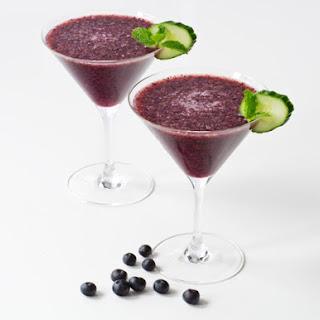 Blueberry Honey Mojito