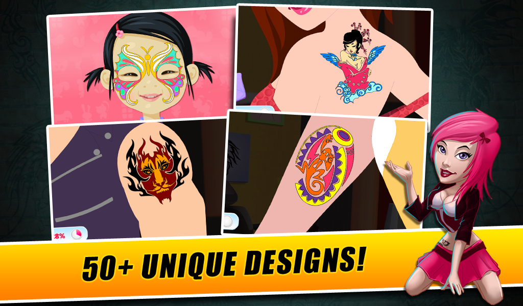 Fab Tattoo Artist Secret Salon- screenshot