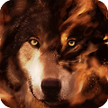 Download PERSONALIZATION Wolf HD Live Wallpaper Animals APK