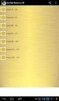 Screenshot of Abu Bakr Shatri Quran MP3