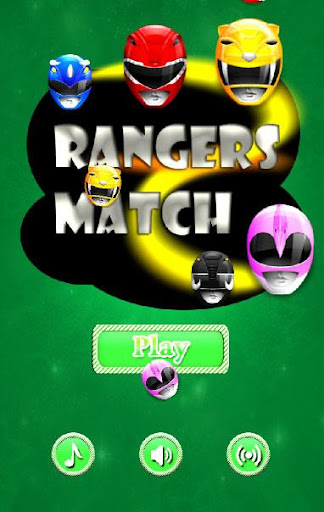 Colored Rangers match game