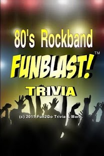 80's Rockband FunBlast Trivia- screenshot thumbnail