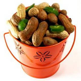 Southern Cajun Boiled Peanuts.