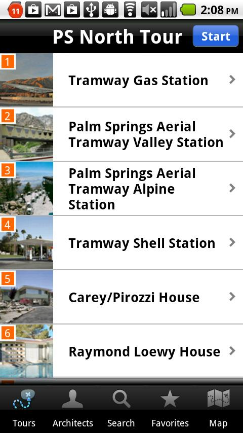 Palm Springs Modernism (Phone)- screenshot