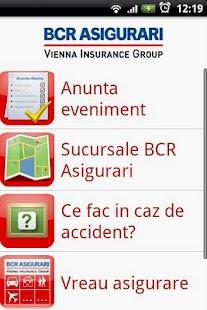 BCR Asigurari VIG- screenshot thumbnail