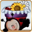 Apex/GO Theme  Cute Ladybugs icon