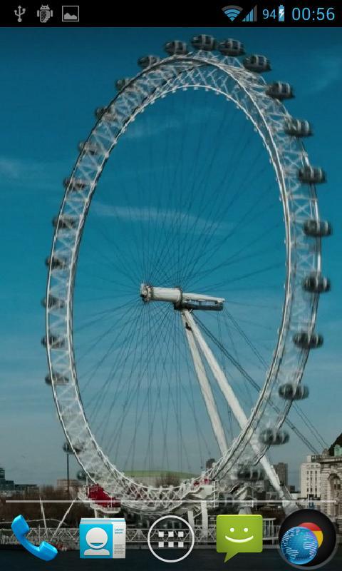 London Eye Live Wallpaper HD- screenshot