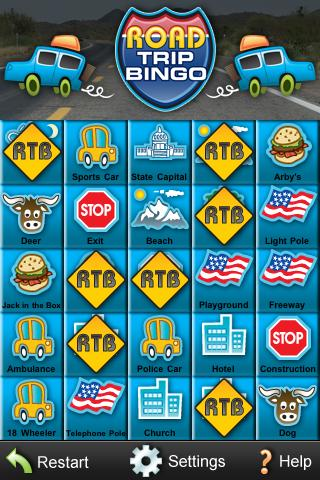 RoadTripBingo- screenshot