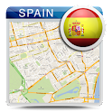 Spain Offline Map Guide Hotels icon