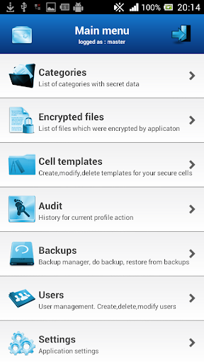 Secure Box Password Manager