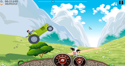 Angolozunk: Driving my tractor