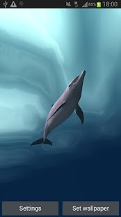 Dolphins Real 3D- screenshot thumbnail