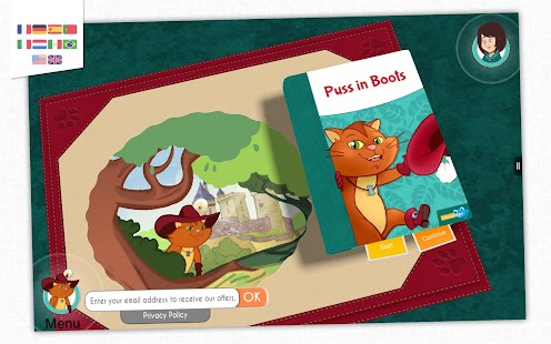 Puss in Boots - Storybook- screenshot thumbnail
