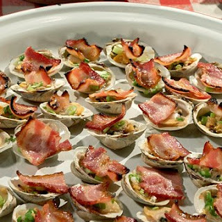 Bacon-Broiled Clams