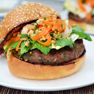 Vietnamese Pork Burger