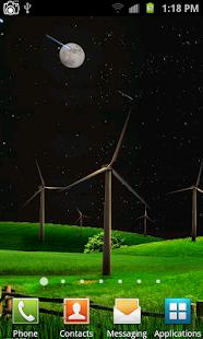 Větrný mlýn Live Wallpaper - náhled