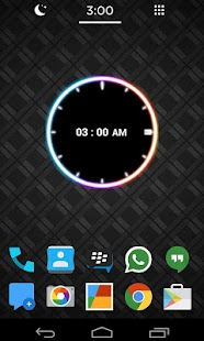 Neon Clock Widget [Free] - screenshot thumbnail