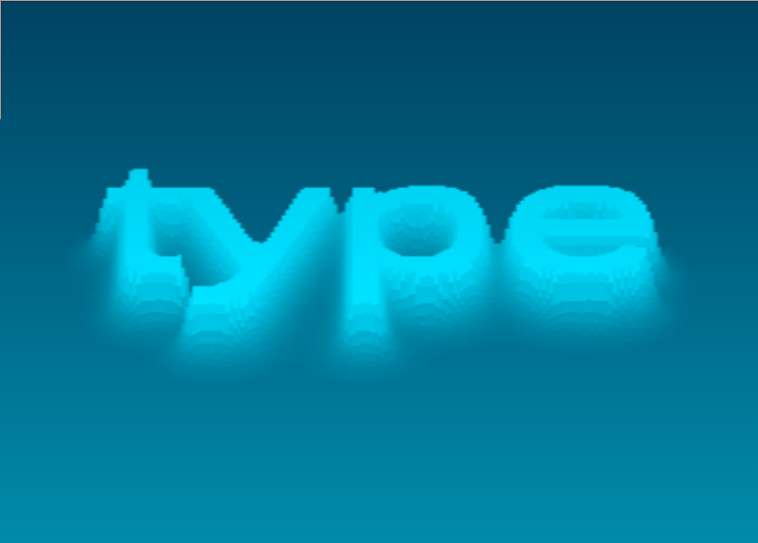 Water Type by Mr doob | Experiments with Google