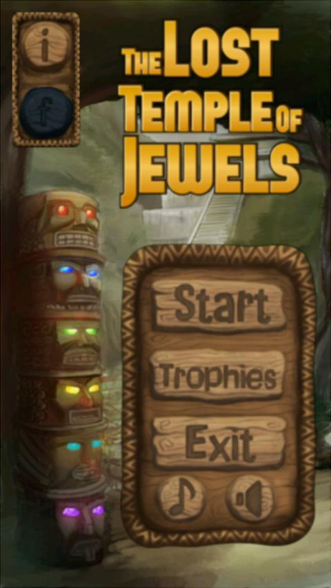 The Lost Temple of Jewels - screenshot