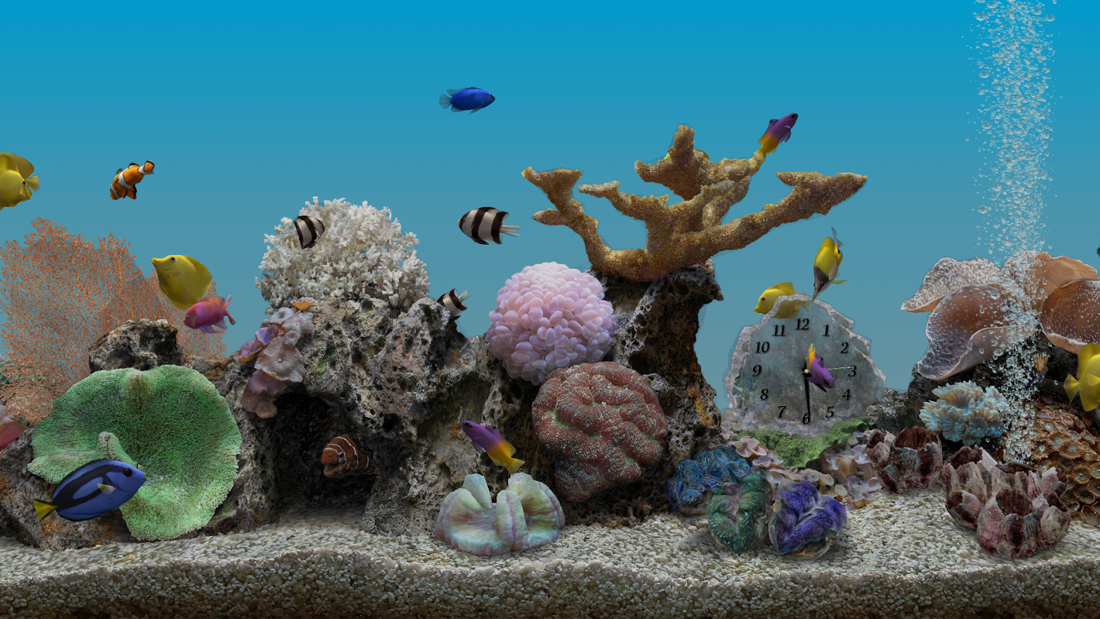 Marine Aquarium 3.2- screenshot