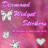 Diamond Stickers Widget  Pack