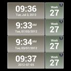 Blazing Skies Clock Widget icon