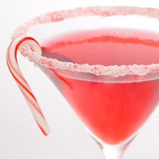 Candy Cane Cocktail.