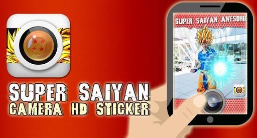 Super Saiyan Camera HD Sticker