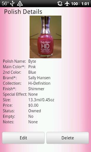 【免費工具App】Nail Polish Cataloger-APP點子