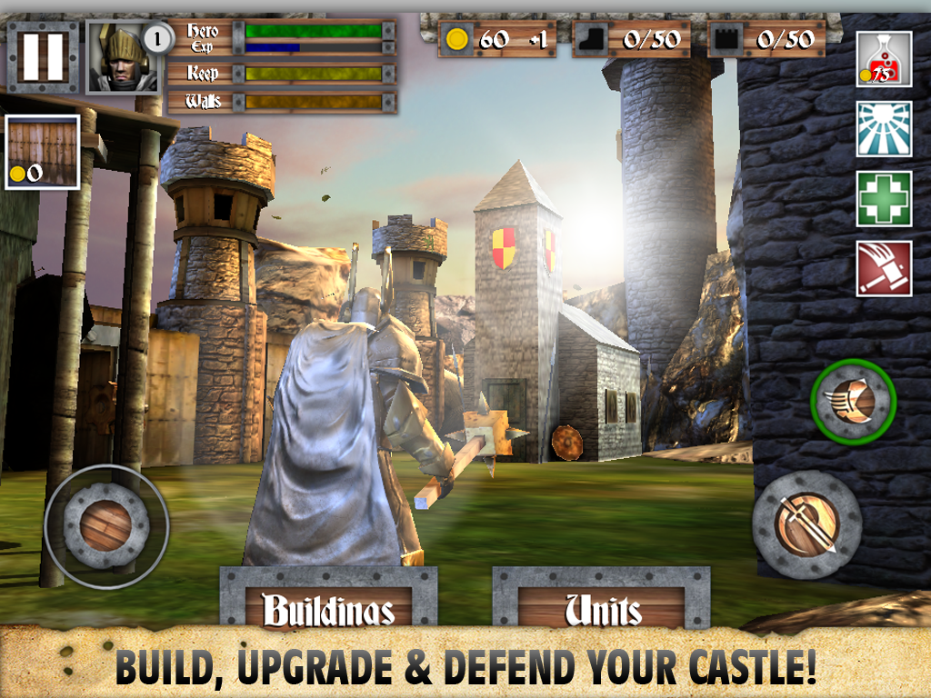 Heroes and Castles screenshot #13