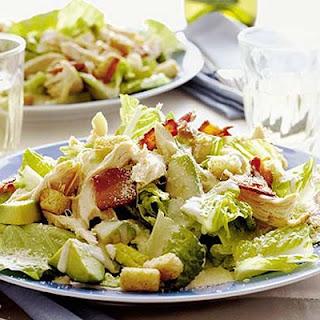 Chicken & Bacon Caesar Salad Recipe