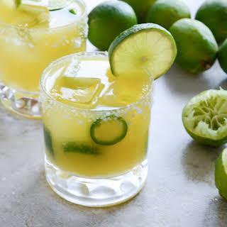 Mango Jalapeño Margaritas.