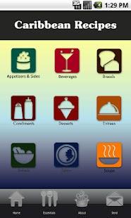 Caribbean Recipes- screenshot thumbnail