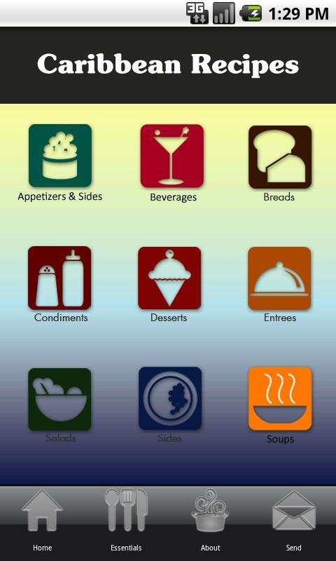 Caribbean Recipes- screenshot